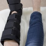Fracture walking boot: one of the worst treatments for a runner