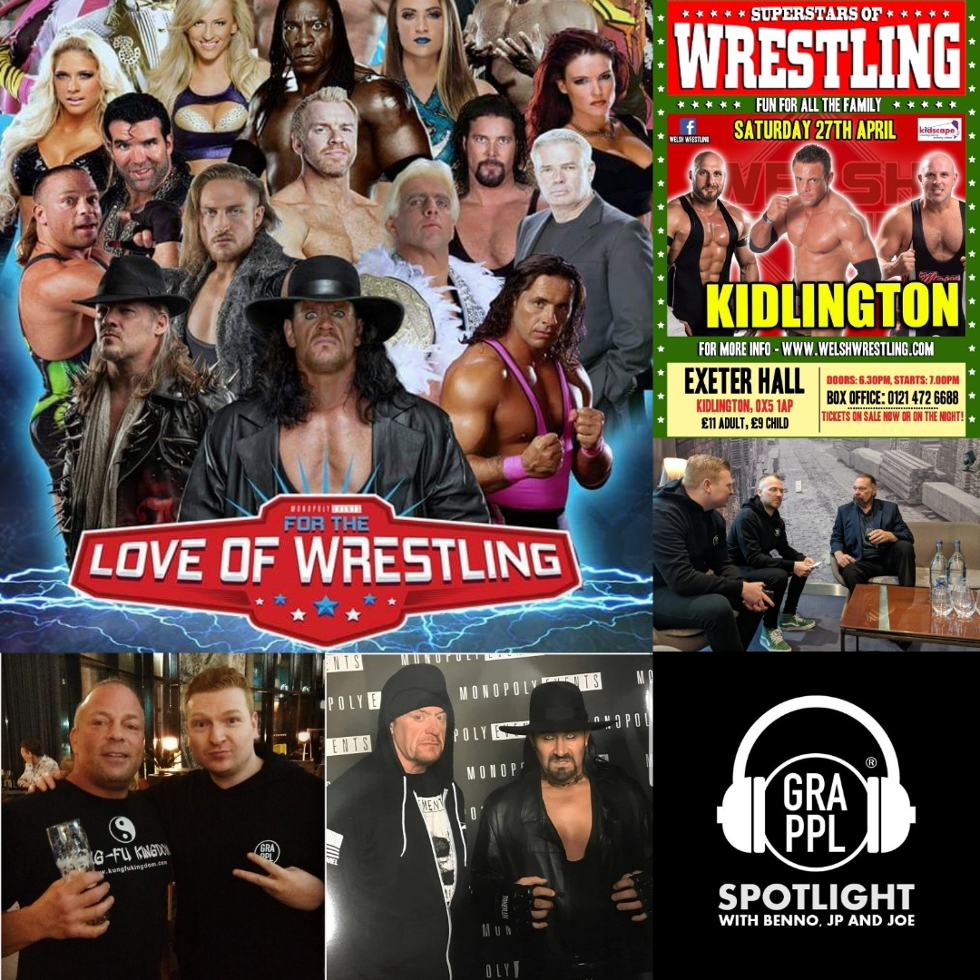 "Spotlight: ""Marty Jannetty"" (Joe and JP at Welsh Wrestling, Benno at For The Love Of Wrestling)"