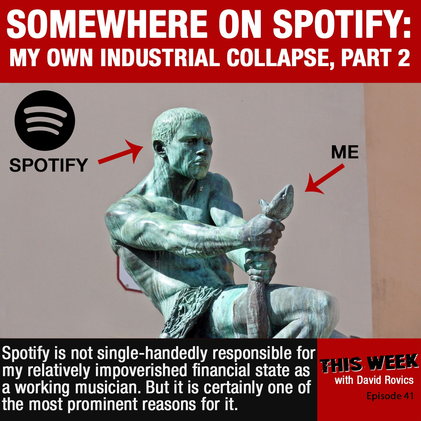 Somewhere On Spotify:  My Own Industrial Collapse, Part 2