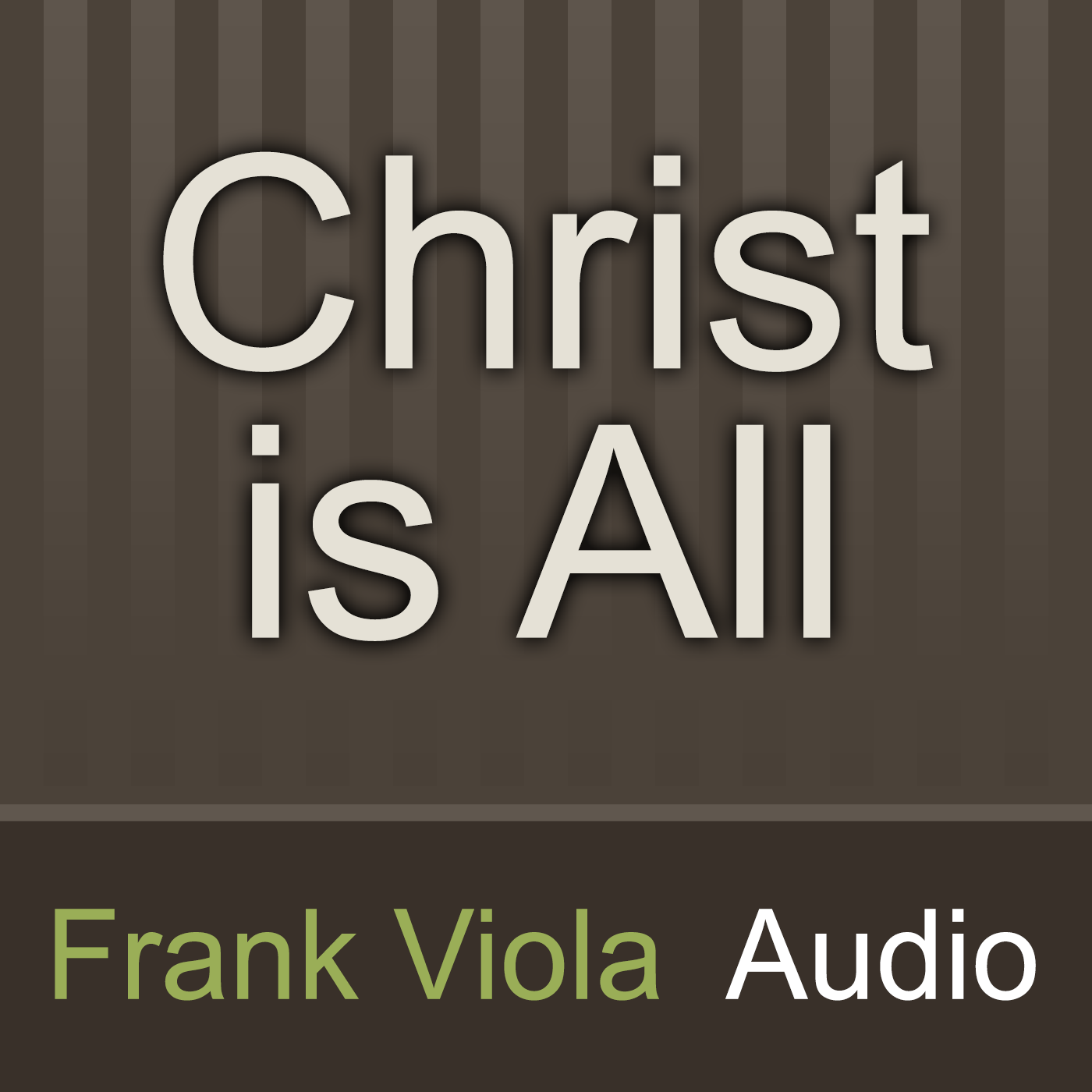 God's Favorite Place on Earth - Dr. Michael Brown Interviews Frank Viola. Radio Interviews 2