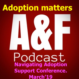 Adoption matters: Navigating Adoption Support Conference March '19