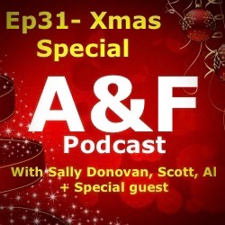 Episode 31 - Xmas Special with Sally Donovan + a Special Message