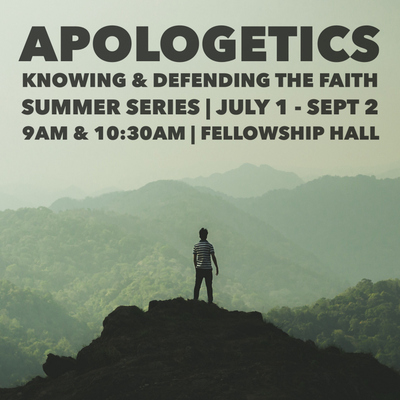 Apologetics | Journalism: Connecting the Dots