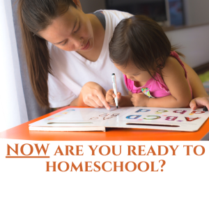 NOW are you ready to homeschool?