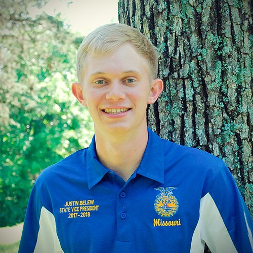 State Vice President, Justin Belew