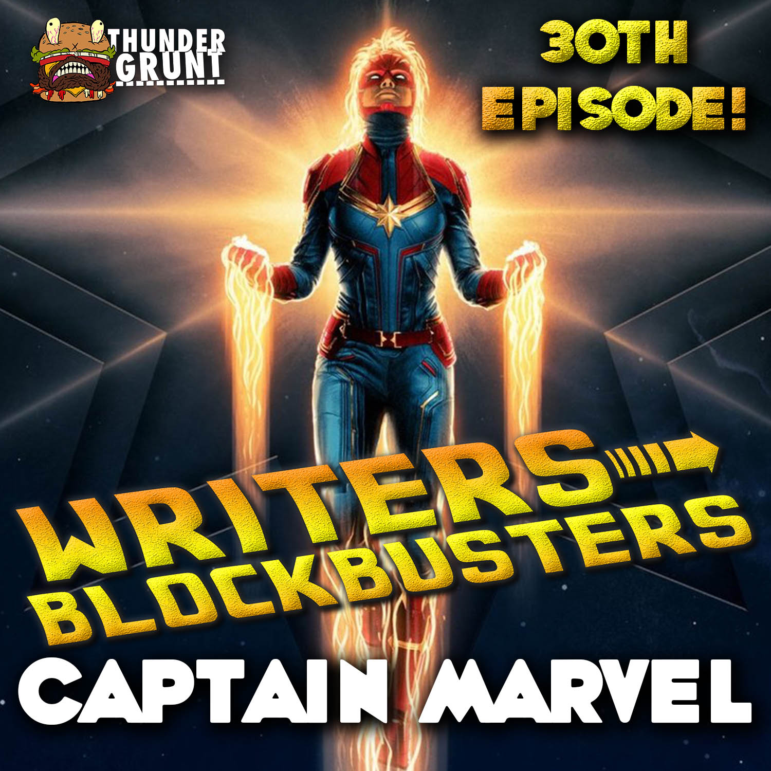 WRITERS/BLOCKBUSTERS 030 | CAPTAIN MARVEL