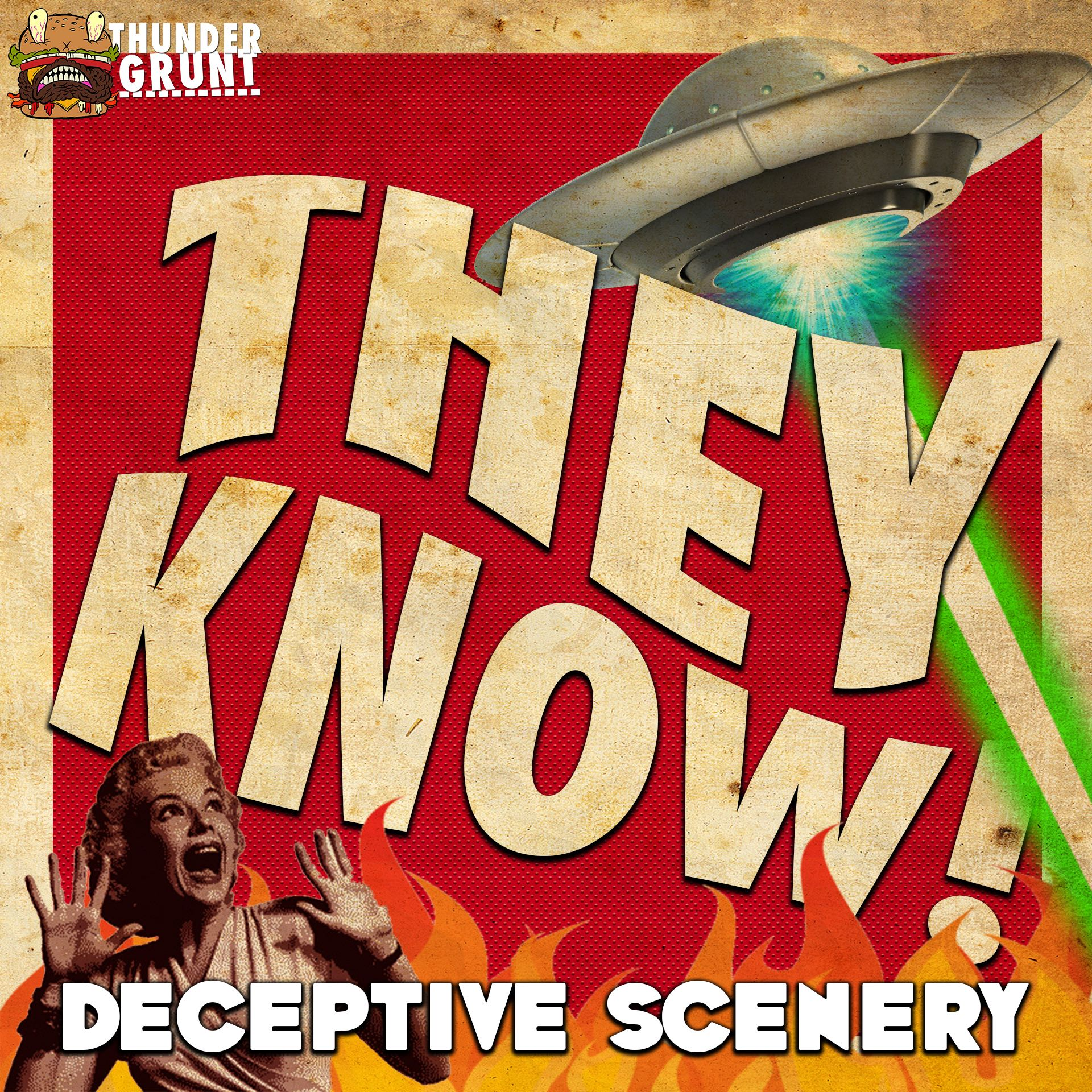 THEY KNOW! 006 | DECEPTIVE SCENERY