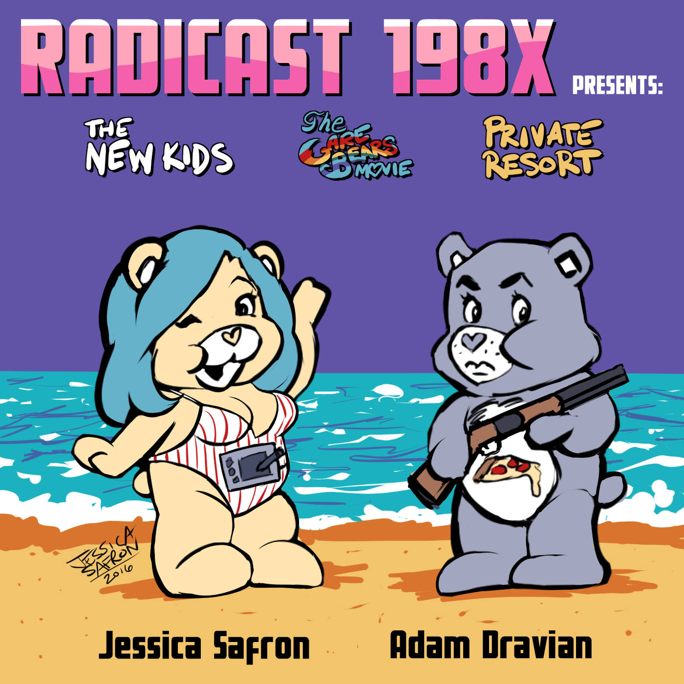 Episode 7 - The New Kids, Care Bears Movie, Private Resort
