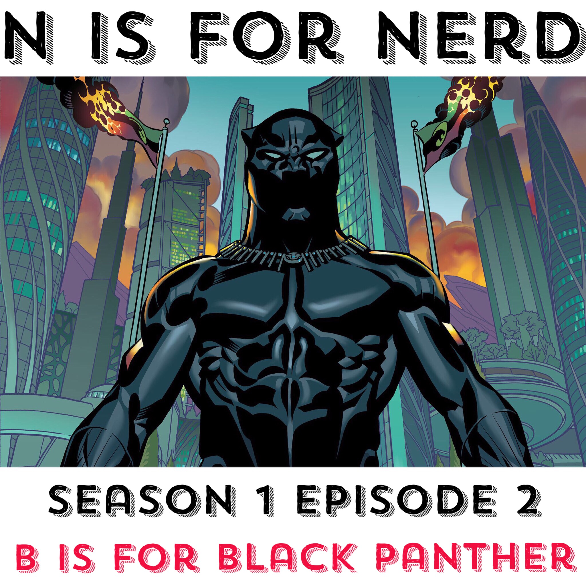 S01E02 - B is for Black Panther