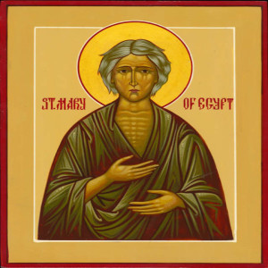 St. Mary of Egypt / 5th Sunday in Lent