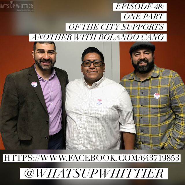 EPISODE 48: ONE PART OF THE CITY SUPPORTS ANOTHER with Rolando Cano