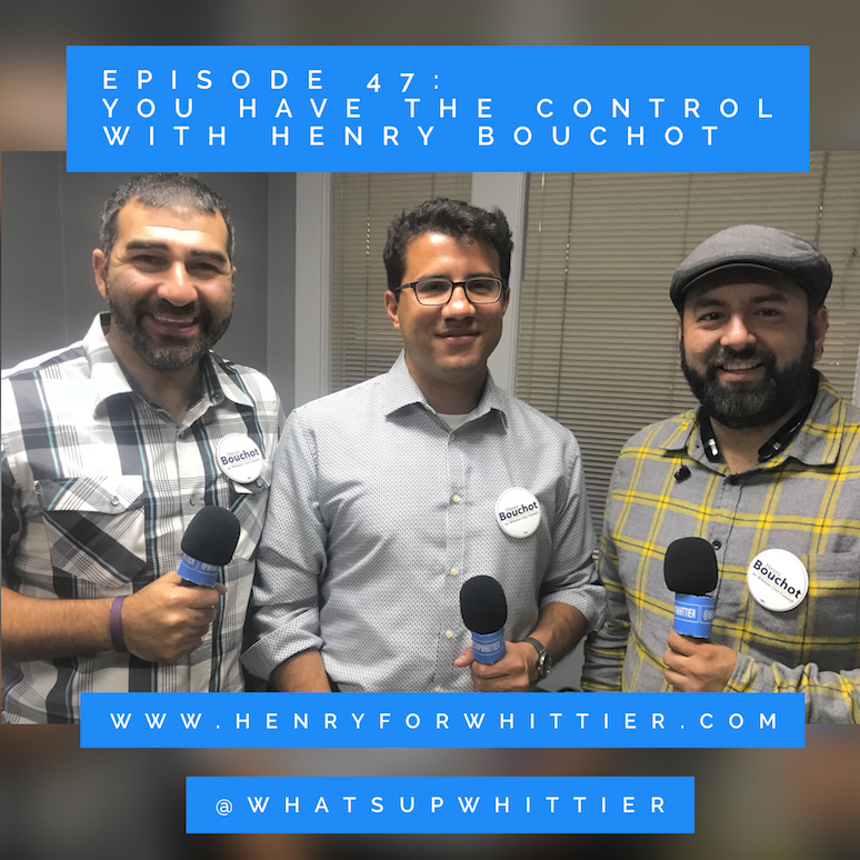 EPISODE 47: YOU HAVE THE CONTROL with Henry Bouchot