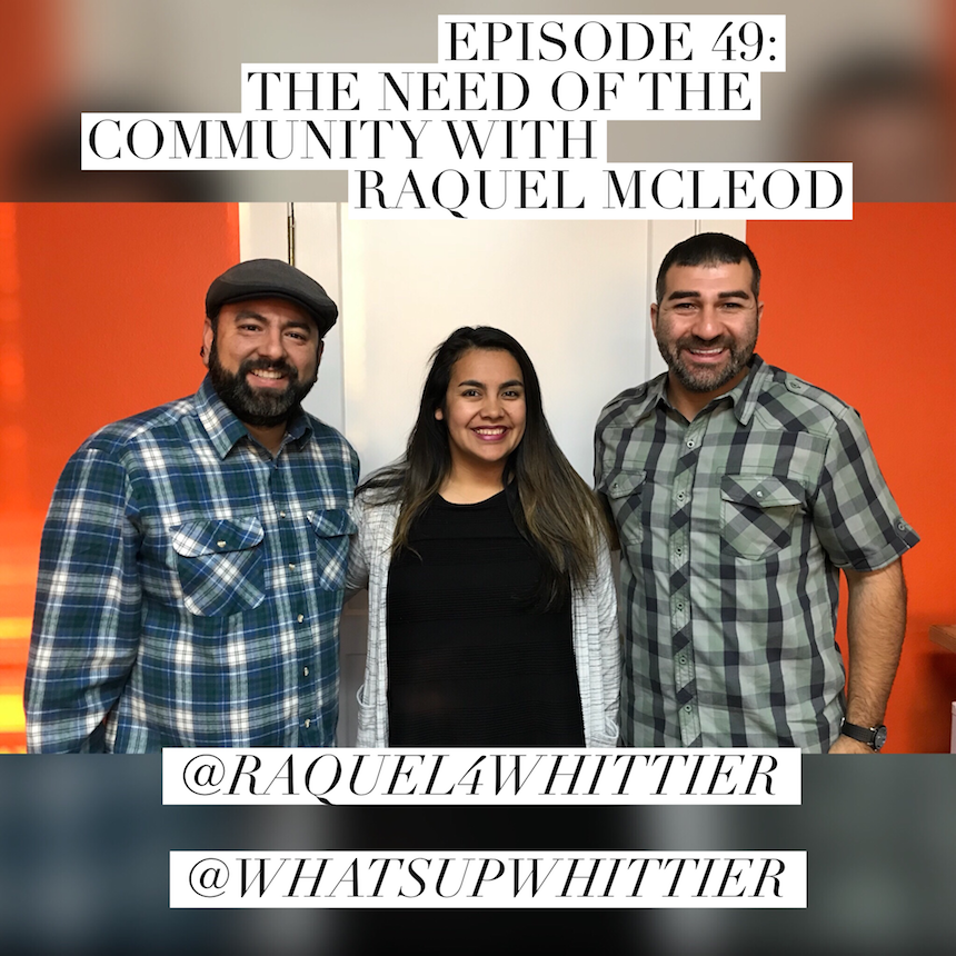 EPISODE 49: THE NEED OF THE COMMUNITY with Raquel McLeod