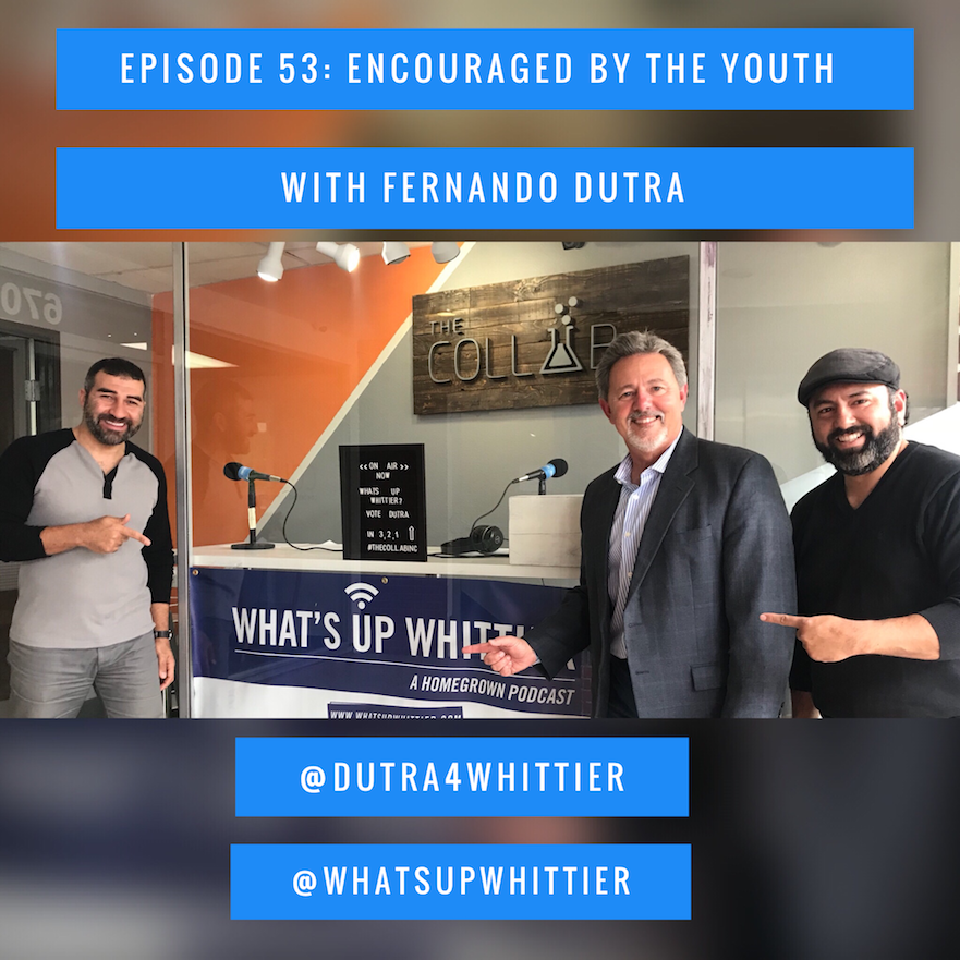 EPISODE 53: ENCOURAGED BY THE YOUTH with Fernando Dutra