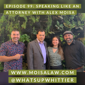 EPISODE 99: SPEAKING LIKE AN ATTORNEY with Alex Moisa