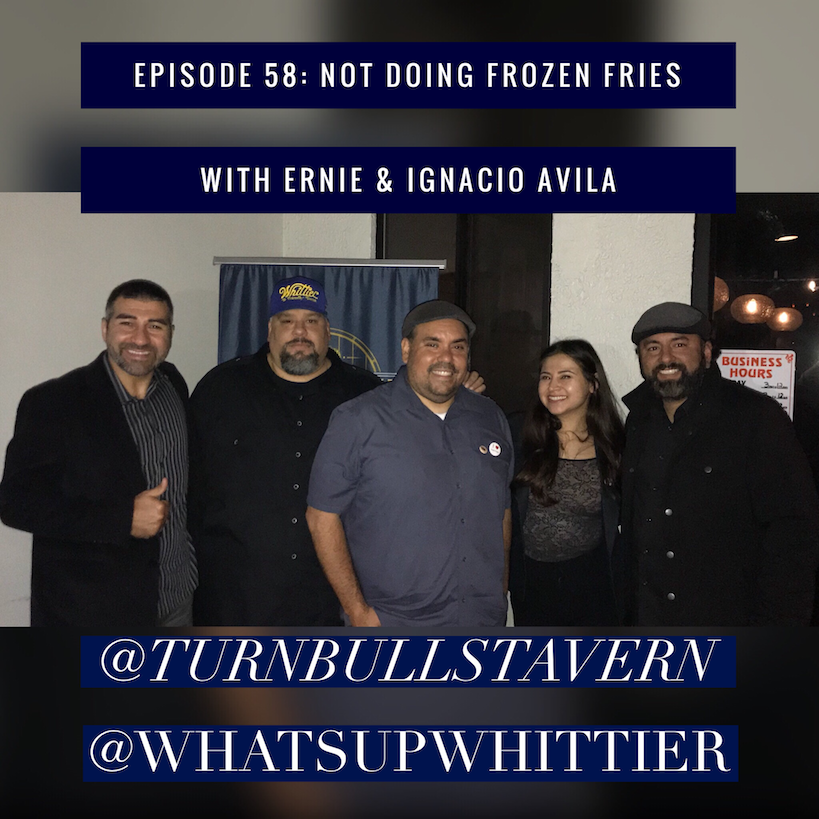 EPISODE 58: NOT DOING FROZEN FRIES with Ernie & Ignacio Avila