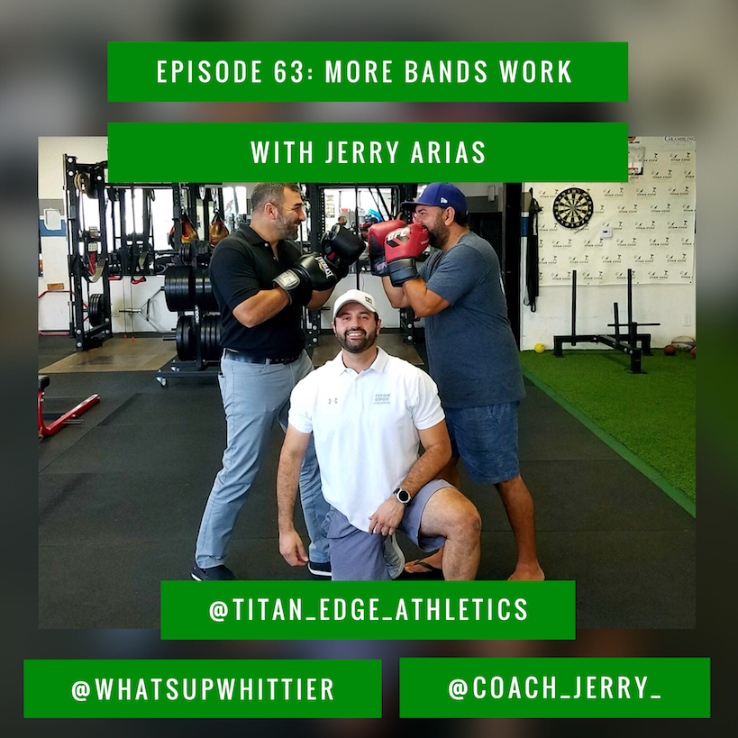EPISODE 63: MORE BANDS WORK with Jerry Arias