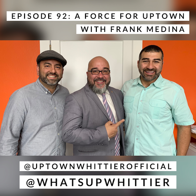 EPISODE 92: A FORCE FOR UPTOWN with Frank Medina