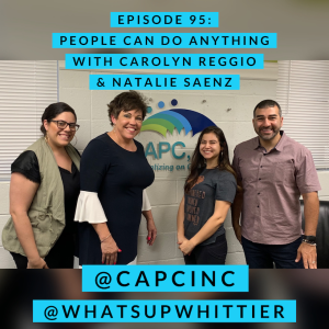 EPISODE 95: PEOPLE CAN DO ANYTHING with Carolyn Reggio