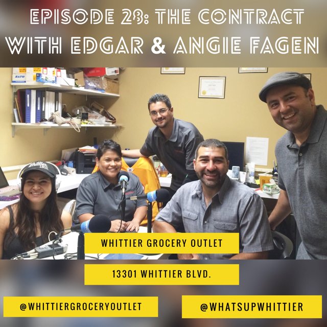 EPISODE 28: THE CONTRACT with Edgar & Angie Fagen