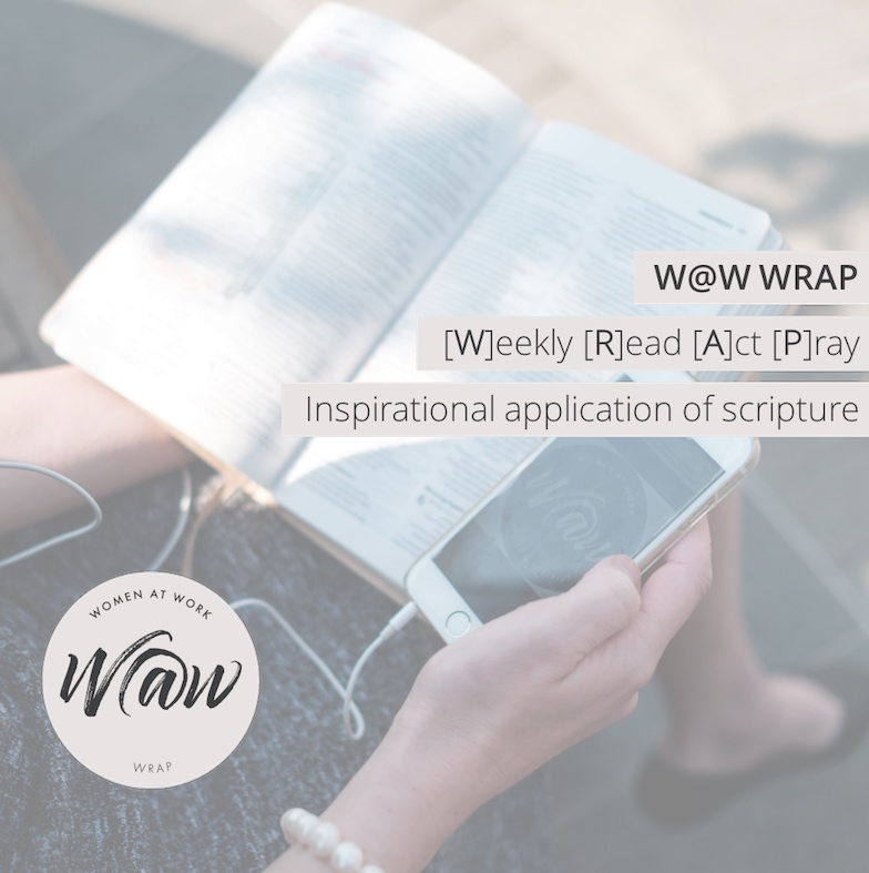 W@W WRAP - Week 122: Bubbling fountain of living water!