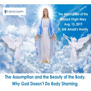 The Assumption and the Beauty of the Body. Why God Doesn't Do Body Shaming. (Fr. Erik Arnold, 08/15/2019)
