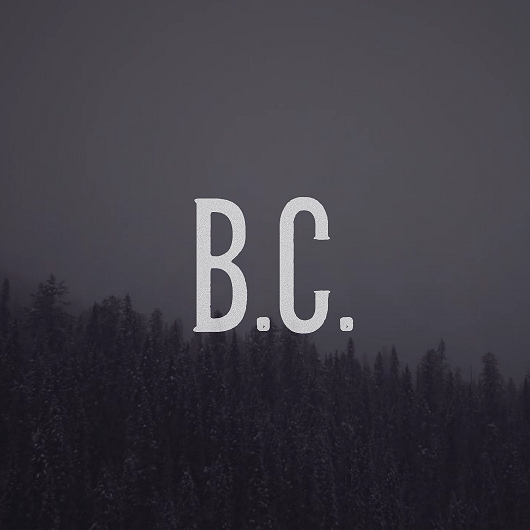B.C. - Bad Blood // Chris Holm