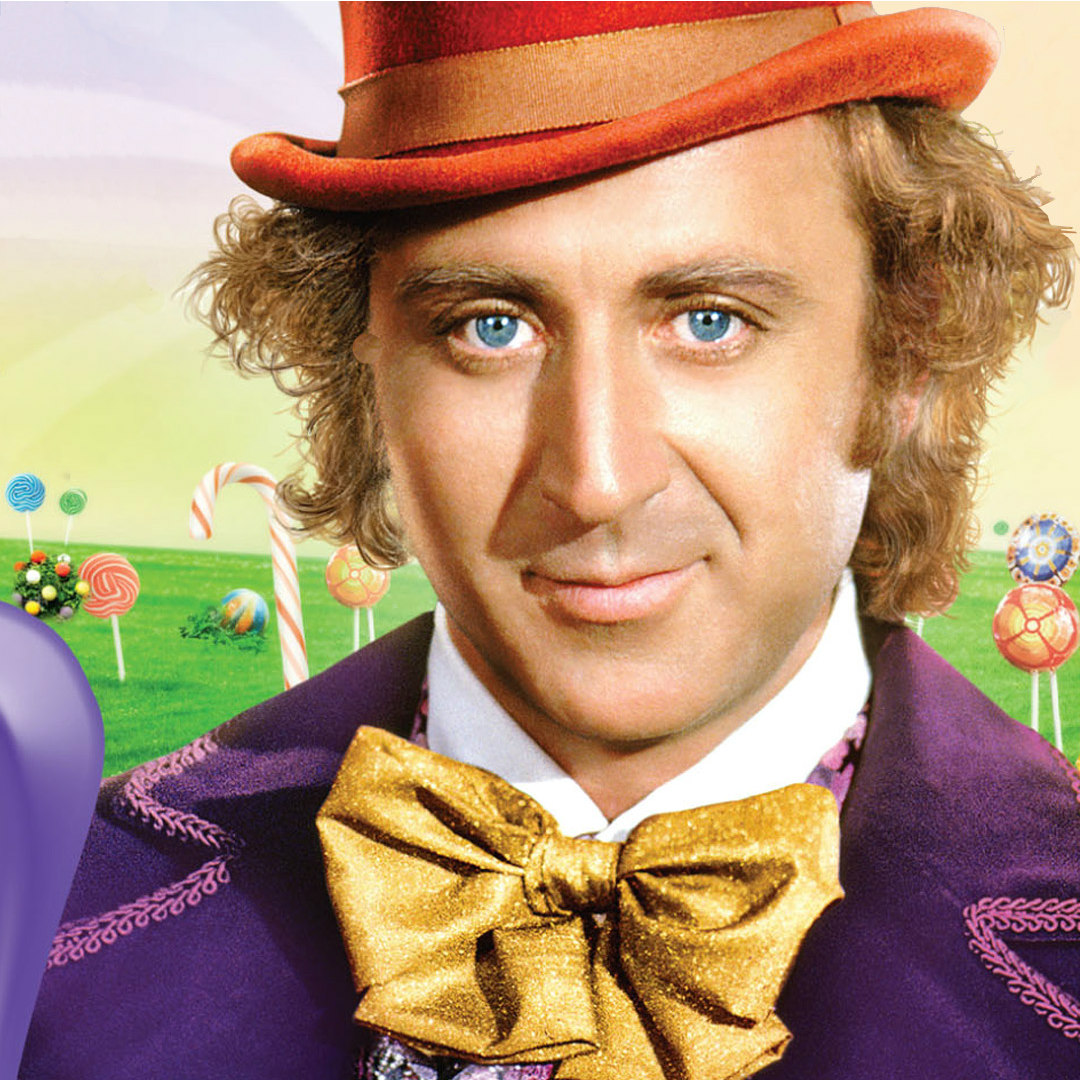 think positive willy wonka - HD1080×1080