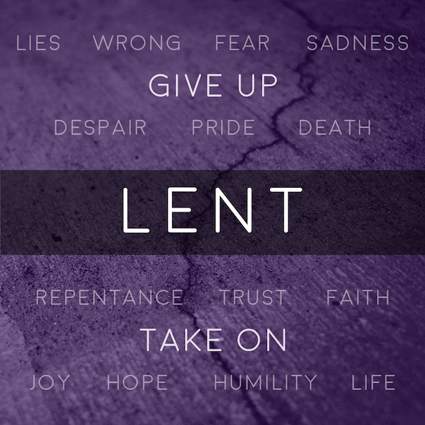 Lent | Give Up Pride and Take On Humility