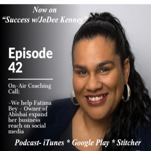 E42: [On-Air Coaching] Expand Your Business w/Social Media