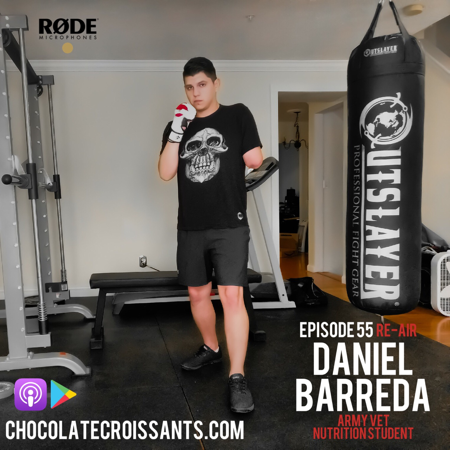 Episode 55 w. Daniel Barreda (Army Veteran) Re-Air