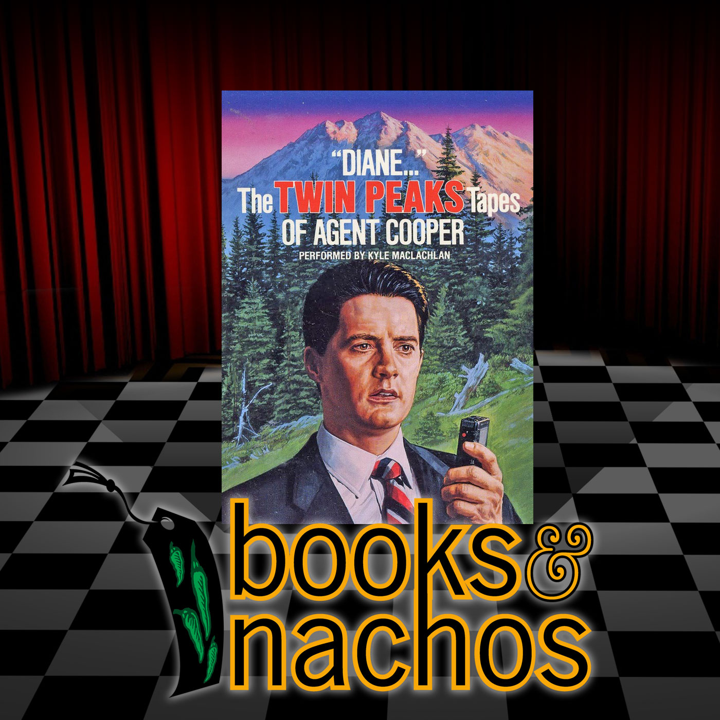 Books & Nachos Review: Twin Peaks: Diane - Twin Peaks Tapes of Agent Cooper by Scott Frost