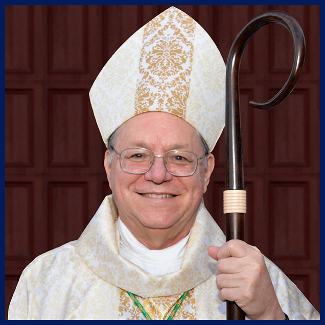 Bishop Louis Kihneman - October 29, 2017 Sacred Heart Church in Rockport, Texas.