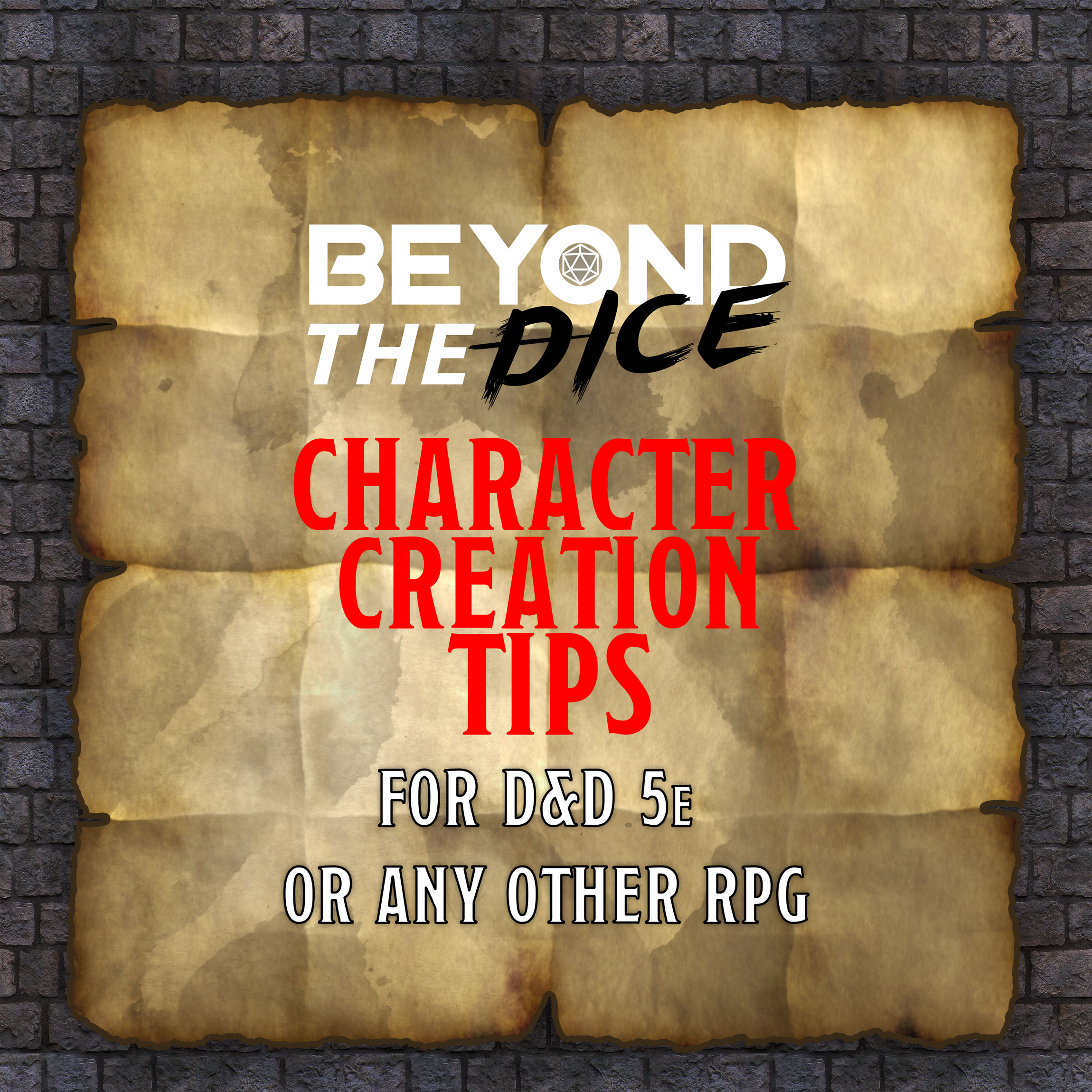 Character Creation Tips
