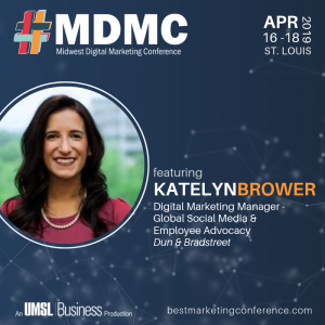 Live at MDMC '19 with Katelyn Brower