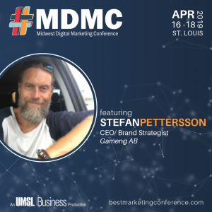 Live at MDMC '19 with Stefan Pettersson