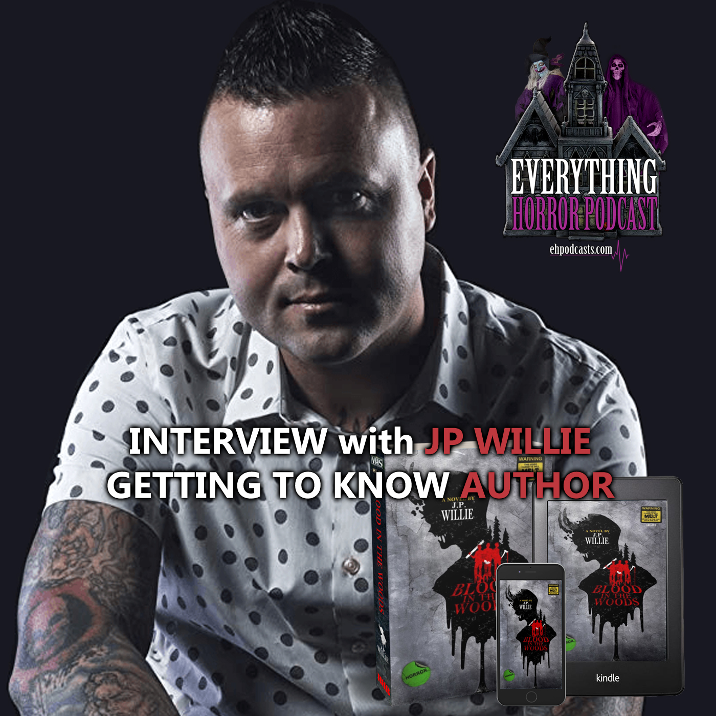 """Interview: JP Willie """"Getting to Know Author"""" 