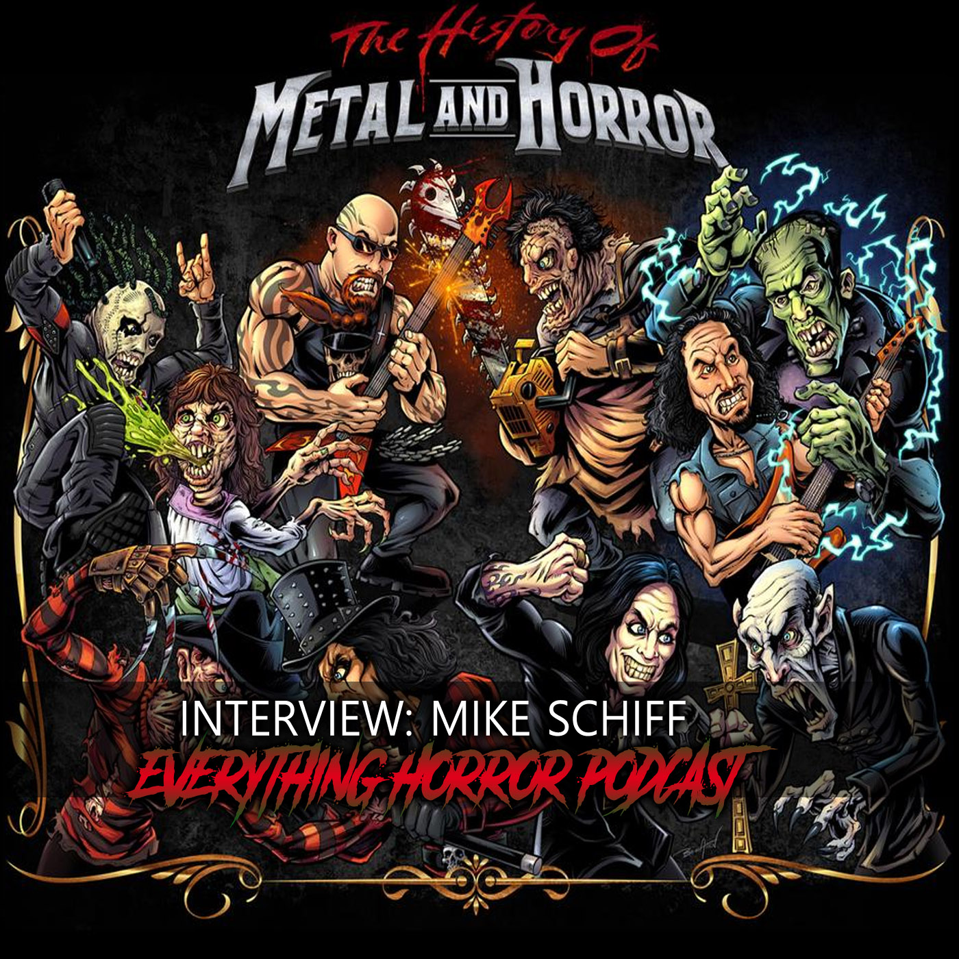 Interview: Mike Schiff | The History of Metal and Horror Documentary