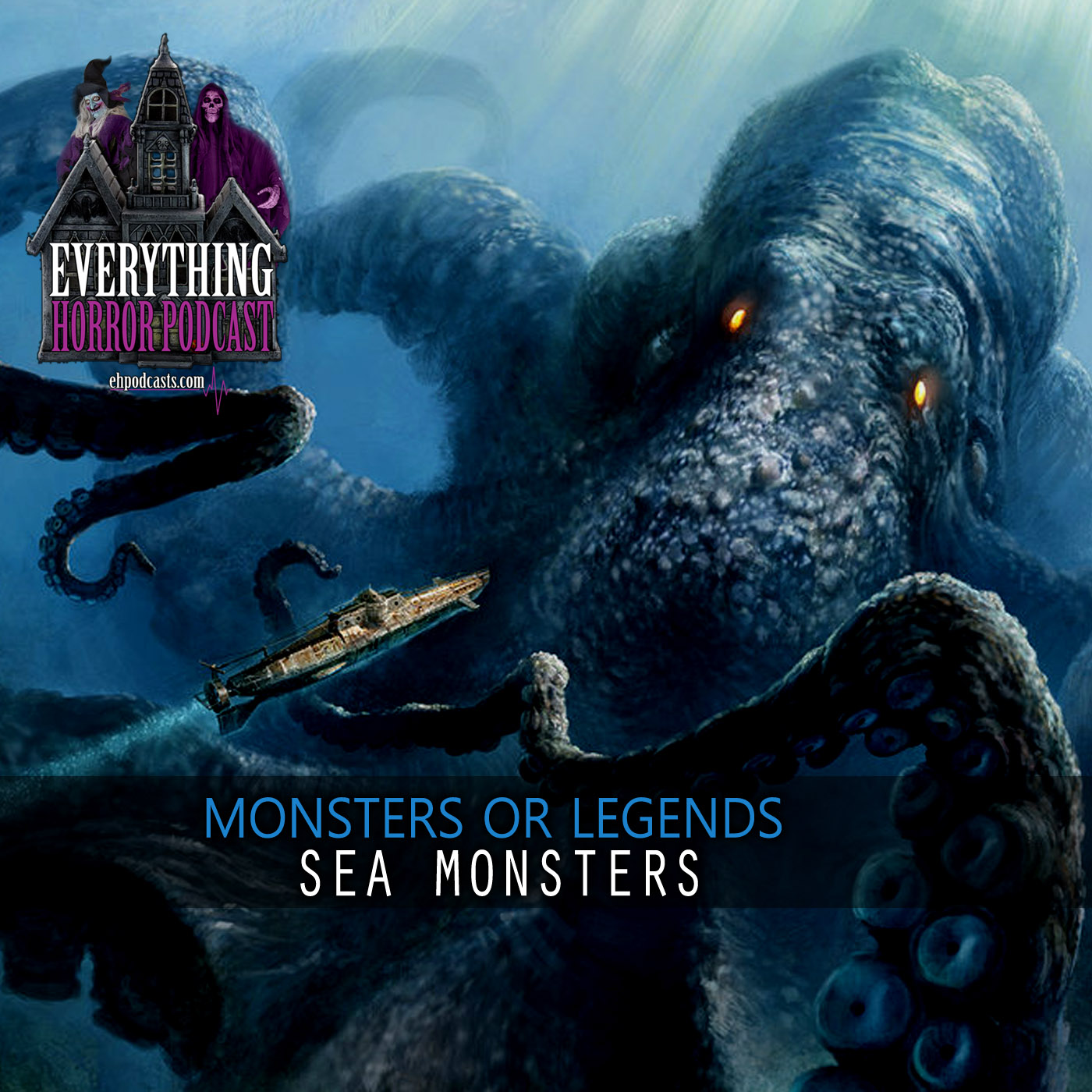 Monsters Or Legends: Sea Monsters   Episode 01