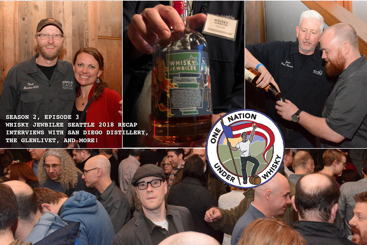 Season 2, Ep 3 - Whisky Jewbilee Seattle 2018 recap
