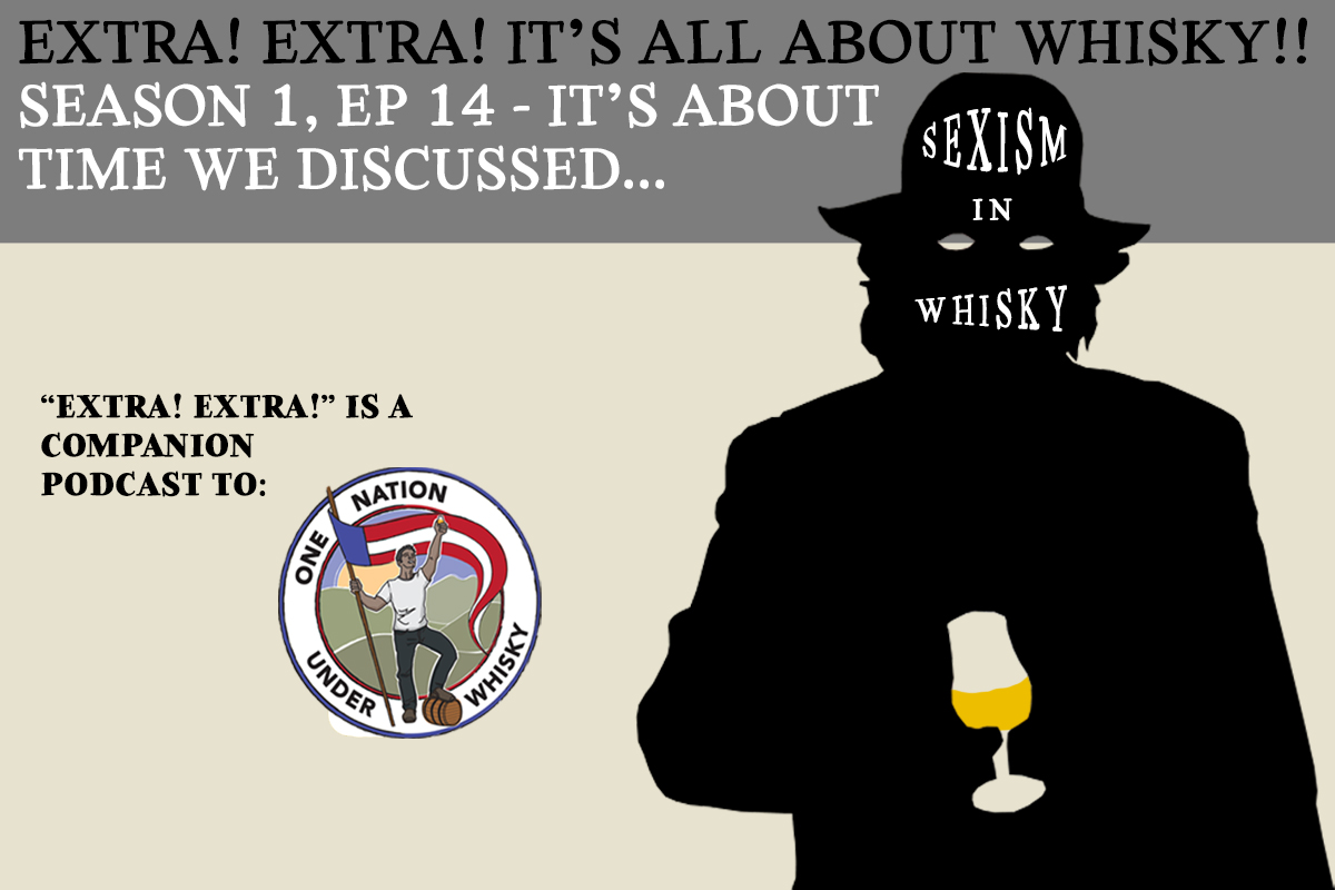 Extra! Extra! It's All About Whisky!! S1E14 -- Sexism in whisky. Let's discuss.