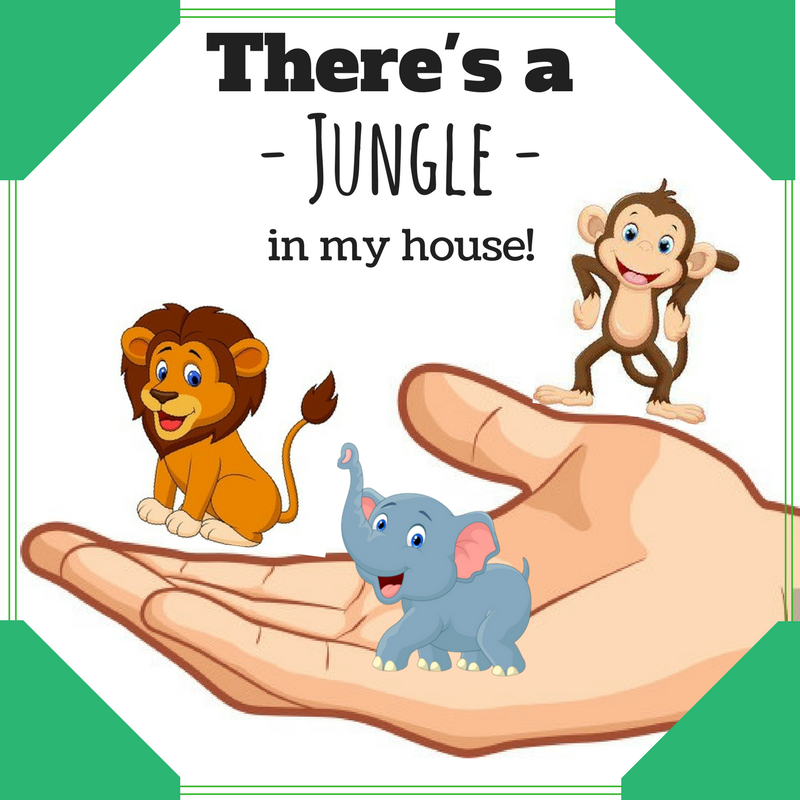 There's a jungle in my house!