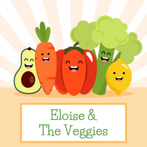 Eloise and the veggies