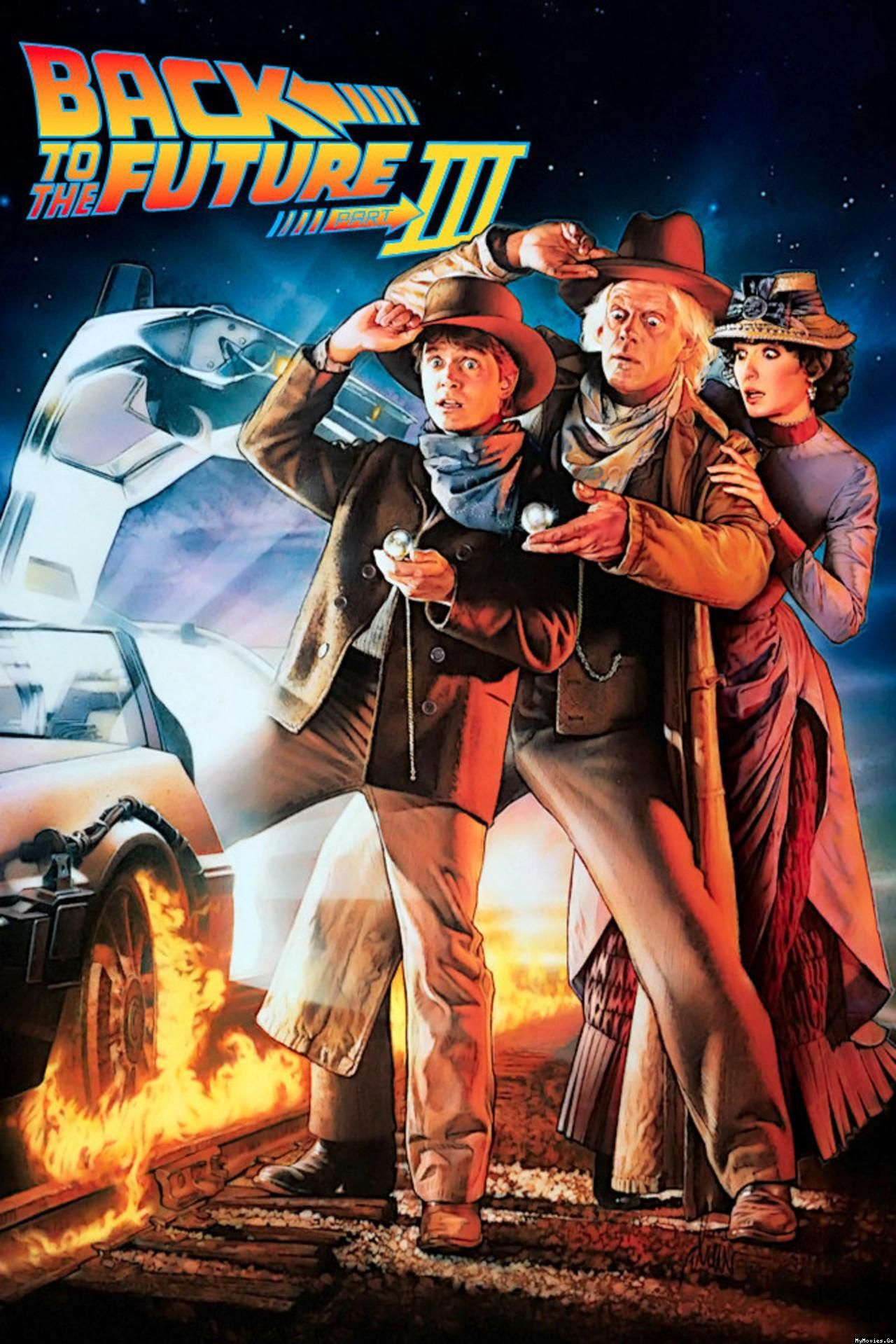 PodPast Presents- Back to the Future part III ( Commentary Episode)