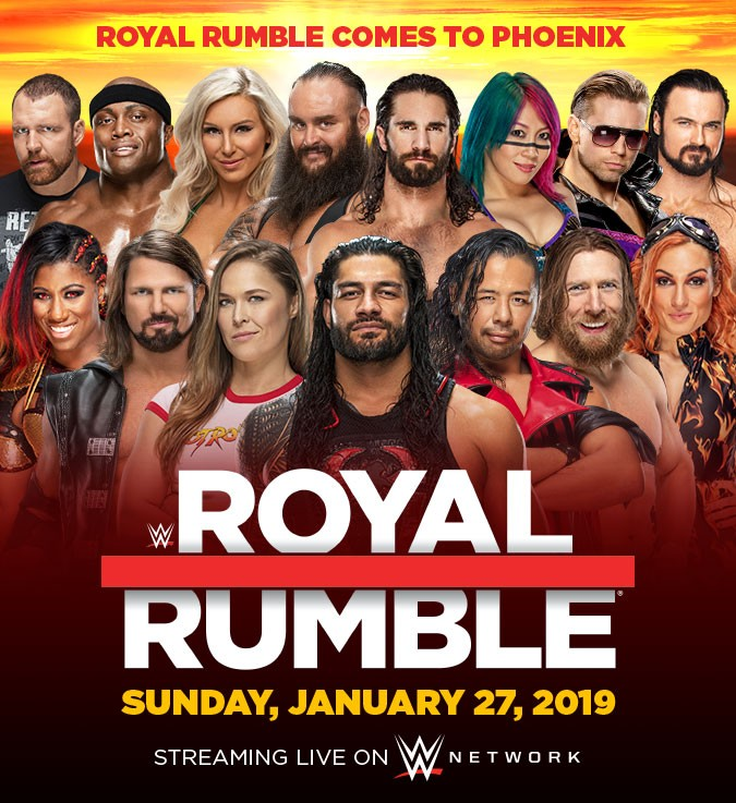 Call It In The Ring- Royal Rumble 2019
