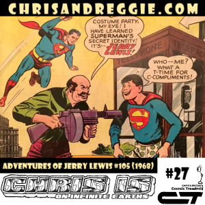 Chris is on Infinite Earths, Episode 27: Adventures of Jerry Lewis #105 (1968)