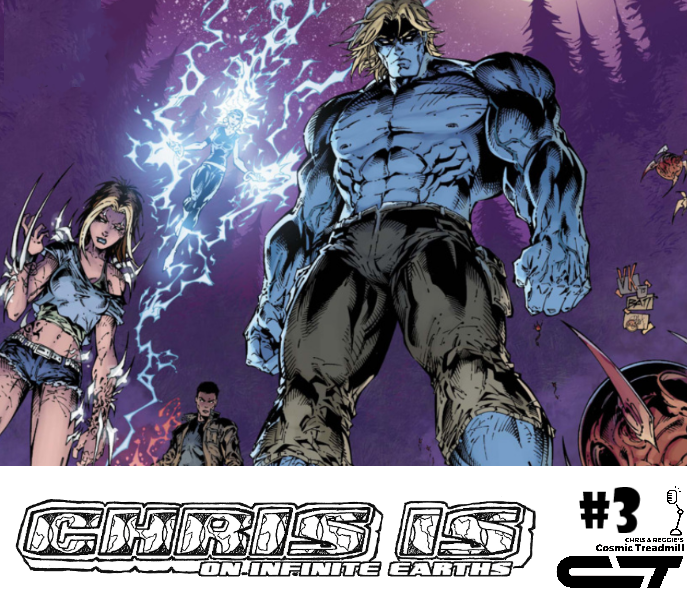 Chris is on Infinite Earths, Episode 3: Bloodlines #1 (2016)