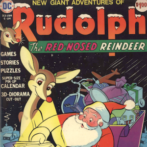 Cosmic Treadmill ep. 121 - Limited Collectors Edition #C-24 (1973) aka New Giant Adventures of Rudolph the Red-Nosed Reindeer