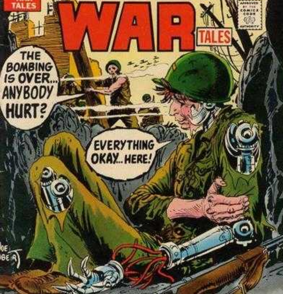 Cosmic Treadmill, Ep. 19 - Weird War Tales #6 (1972)
