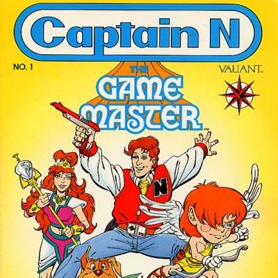 Cosmic Treadmill ep. 106 - Captain N: The Game Master #1 (1990) + A History of Valiant Comics